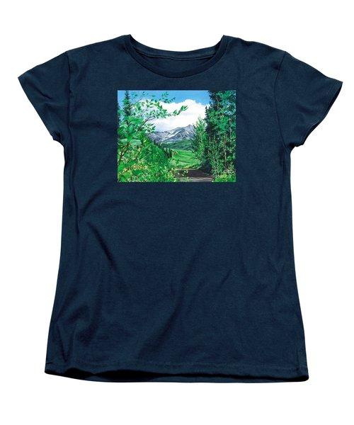 Summer Paradise Women's T-Shirt (Standard Cut) by Barbara Jewell