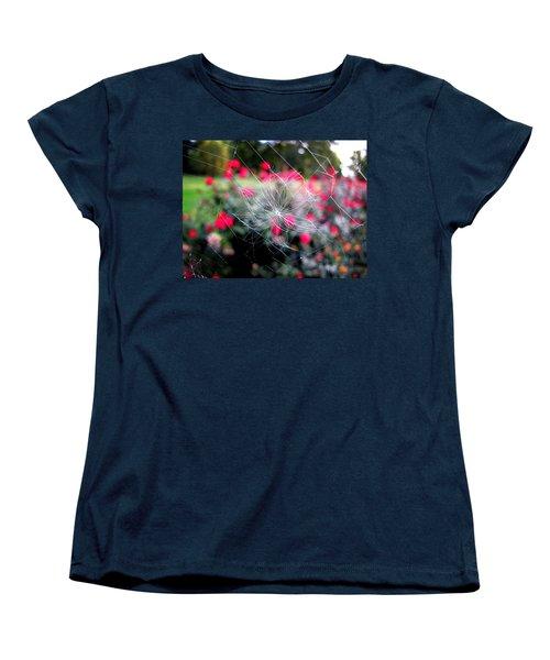 Women's T-Shirt (Standard Cut) featuring the photograph Summer Snowflake by Greg Simmons