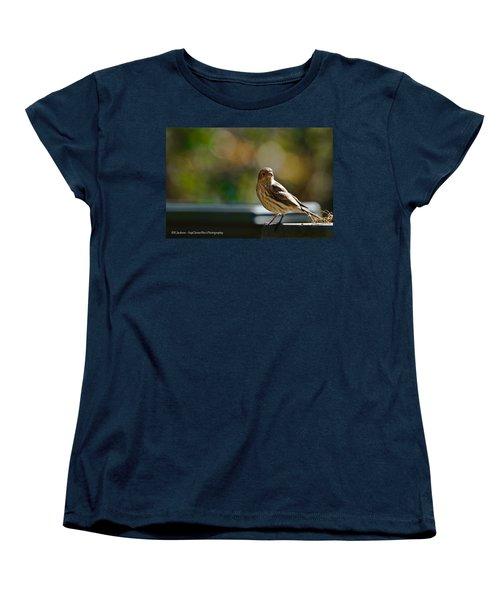 Women's T-Shirt (Standard Cut) featuring the photograph Sun Bathing by Robert L Jackson