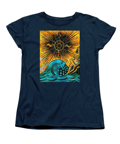 Big Sur Sun Goddess Women's T-Shirt (Standard Cut) by Joseph J Stevens