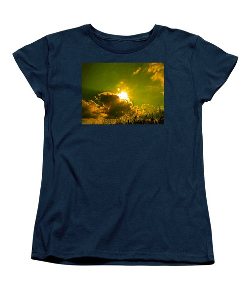 Sun Nest Women's T-Shirt (Standard Cut) by Nick Kirby