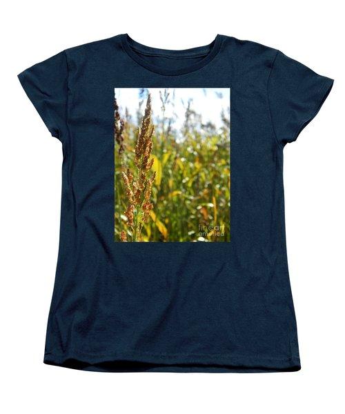 Sun Of Life Women's T-Shirt (Standard Cut) by Andrea Anderegg