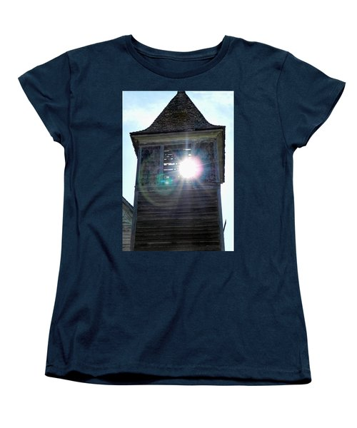 Sun Through The Steeple-by Cathy Anderson Women's T-Shirt (Standard Cut) by Cathy Anderson