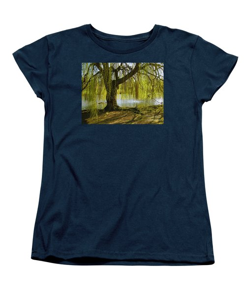 Sunday In The Park Women's T-Shirt (Standard Cut) by Madeline Ellis