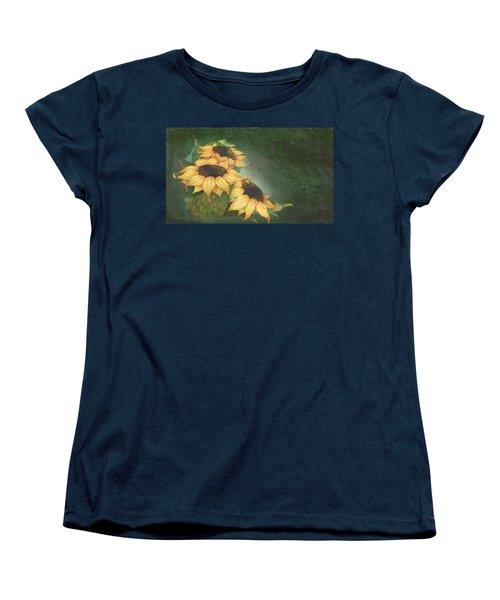 Sunflowers Women's T-Shirt (Standard Cut) by Doreta Y Boyd