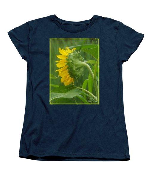 Sunny Profile Women's T-Shirt (Standard Cut) by Sara  Raber