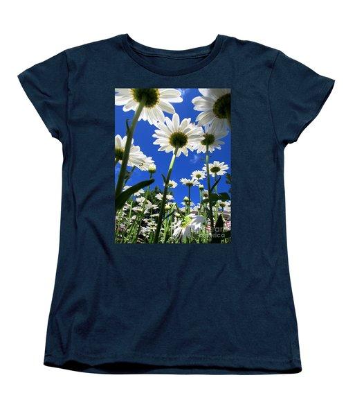 Sunny Side Up Women's T-Shirt (Standard Cut) by Pamela Clements