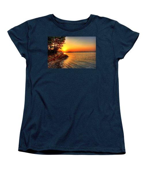 Sunrise Around The Bend Women's T-Shirt (Standard Cut)