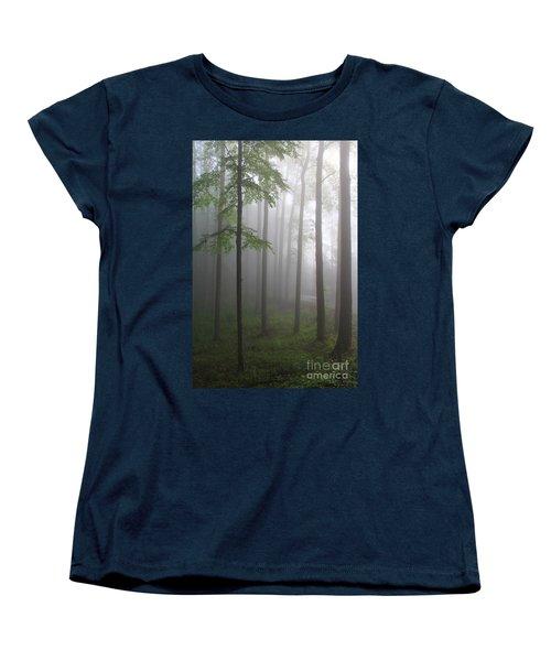 Sunrise Fog Women's T-Shirt (Standard Cut)