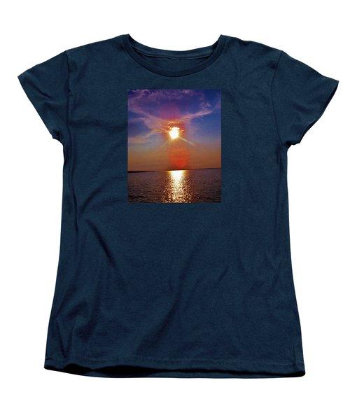 Sunrise Over The Big Mac Women's T-Shirt (Standard Cut) by Daniel Thompson