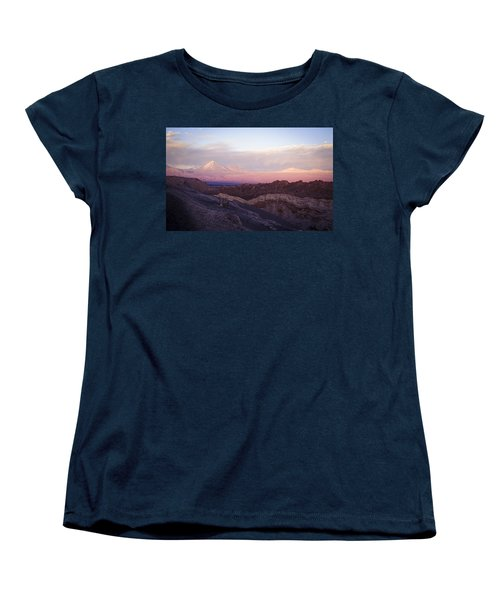 Women's T-Shirt (Standard Cut) featuring the photograph Sunset At The Valley Of The Moon by Lana Enderle