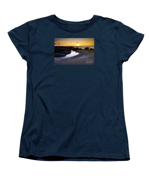 Women's T-Shirt (Standard Cut) featuring the photograph Sunset In Iceland by Gunnar Orn Arnason