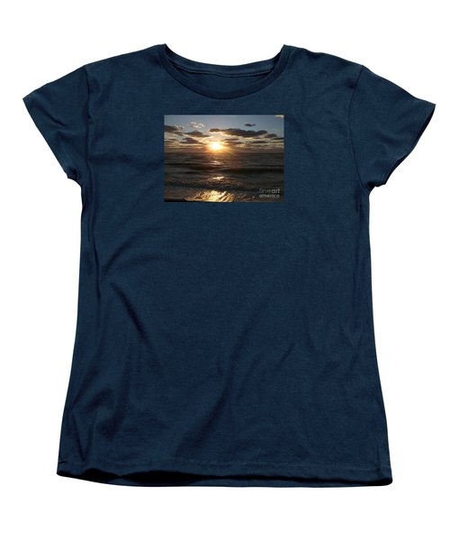 Sunset On Venice Beach  Women's T-Shirt (Standard Cut) by Christiane Schulze Art And Photography