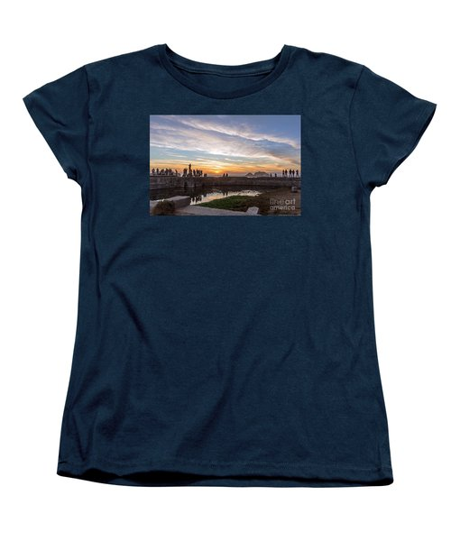 Sunset Party Women's T-Shirt (Standard Cut) by Kate Brown