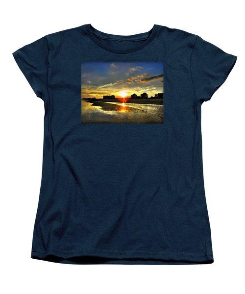 Women's T-Shirt (Standard Cut) featuring the photograph Sunset by Savannah Gibbs