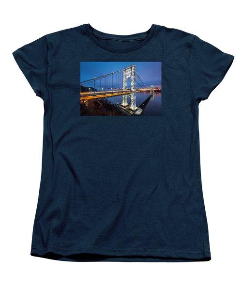 Super Bowl Gwb Women's T-Shirt (Standard Cut) by Mihai Andritoiu