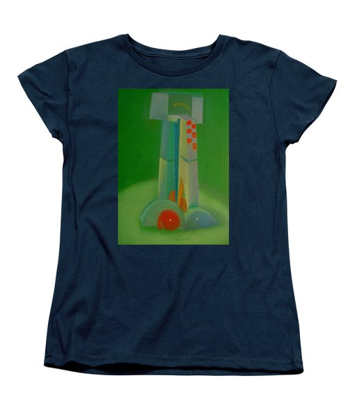 Women's T-Shirt (Standard Cut) featuring the painting Survivors by Charles Stuart