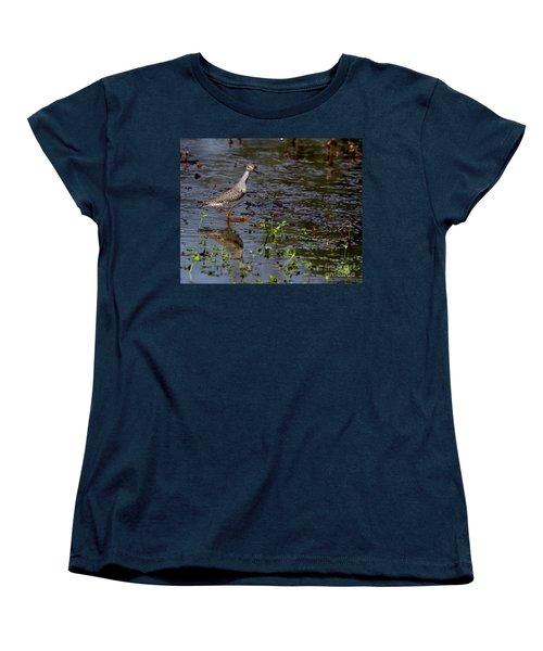 Swamp Strutting Women's T-Shirt (Standard Cut) by Liz Masoner