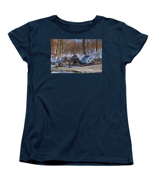 Sweet Country Charm Women's T-Shirt (Standard Cut) by Liane Wright