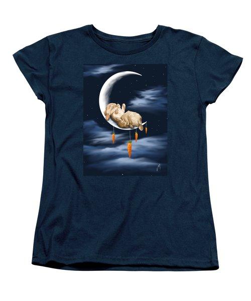 Sweet Dreams Women's T-Shirt (Standard Cut) by Veronica Minozzi