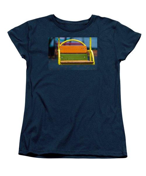Swinging Rain - Featured 3 Women's T-Shirt (Standard Cut) by Alexander Senin