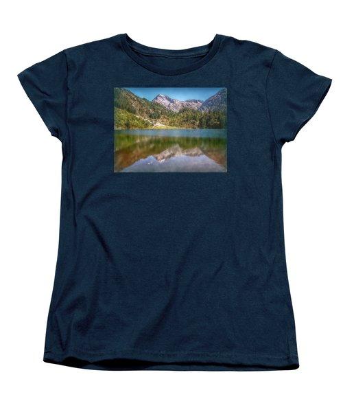 Swiss Tarn Women's T-Shirt (Standard Cut) by Hanny Heim