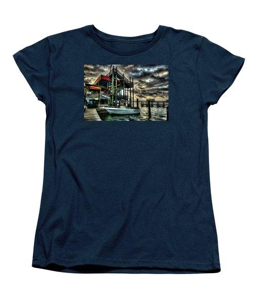 Women's T-Shirt (Standard Cut) featuring the digital art Tacky Jack Morning by Michael Thomas