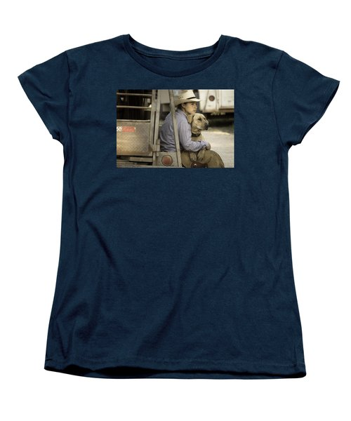 Tailgate Friends Women's T-Shirt (Standard Cut) by Steven Bateson