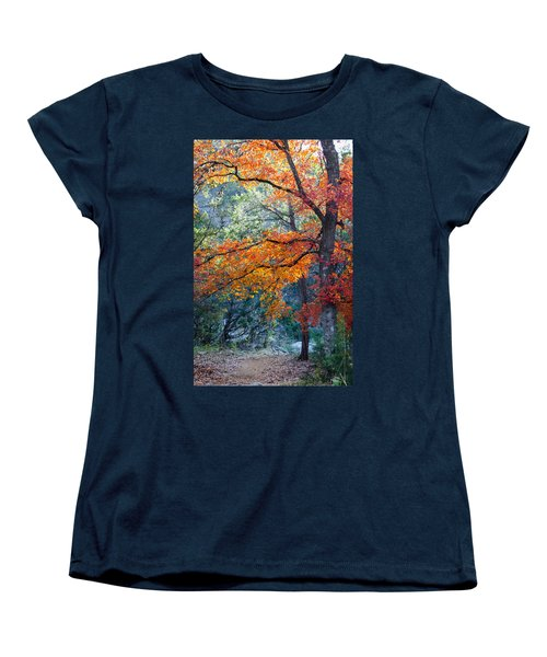 Take A Bough Women's T-Shirt (Standard Cut) by Debbie Karnes