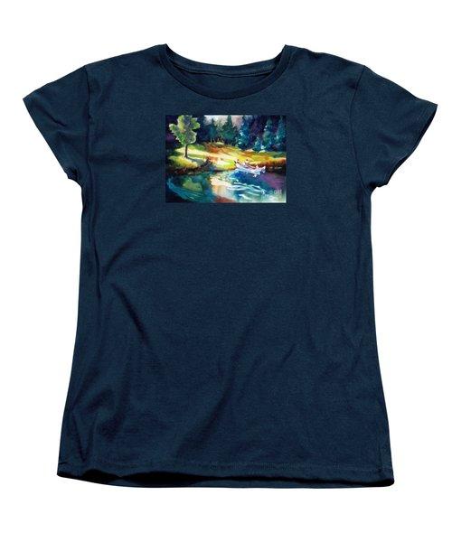 Taking A Break 2 Women's T-Shirt (Standard Cut) by Kathy Braud