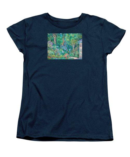 Women's T-Shirt (Standard Cut) featuring the painting Taking A Break by Kendall Kessler
