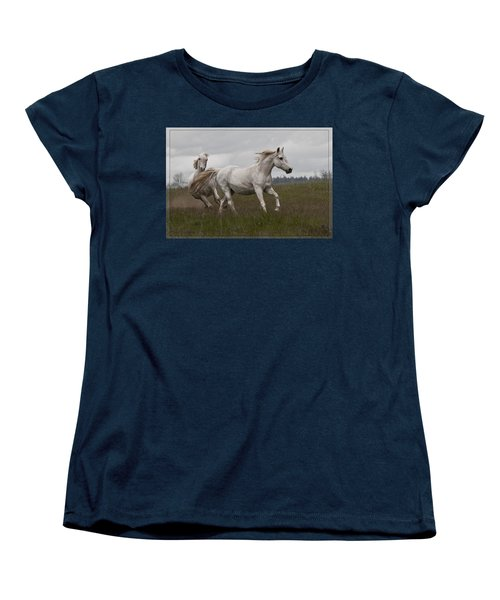 Talegating Women's T-Shirt (Standard Cut) by Wes and Dotty Weber