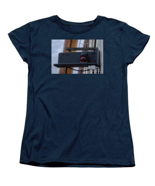 Women's T-Shirt (Standard Cut) featuring the photograph Tall Ship Bow Light by Dale Powell