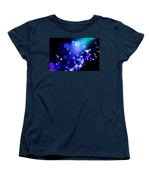 Tangled Up In Blue Women's T-Shirt (Standard Cut) by Dazzle Zazz