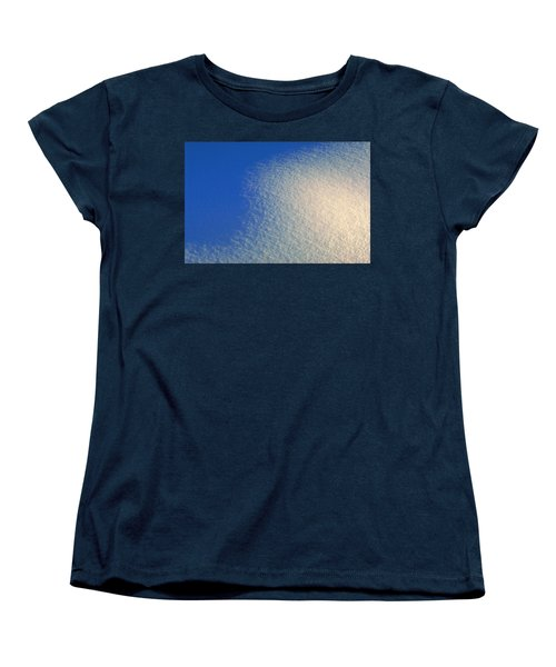 Women's T-Shirt (Standard Cut) featuring the photograph Tao Of Snow by Mark Greenberg