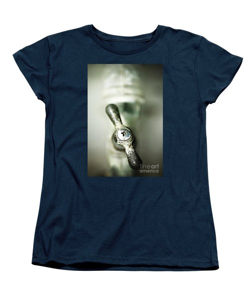 Women's T-Shirt (Standard Cut) featuring the photograph Tap Into Your Life by Trish Mistric