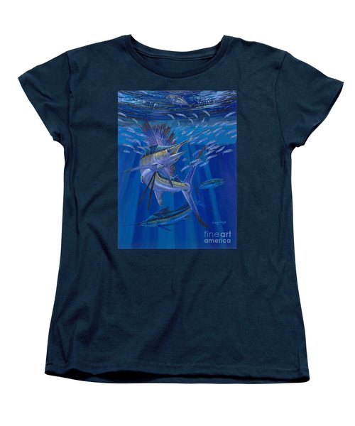 Team Work Off0036 Women's T-Shirt (Standard Cut) by Carey Chen