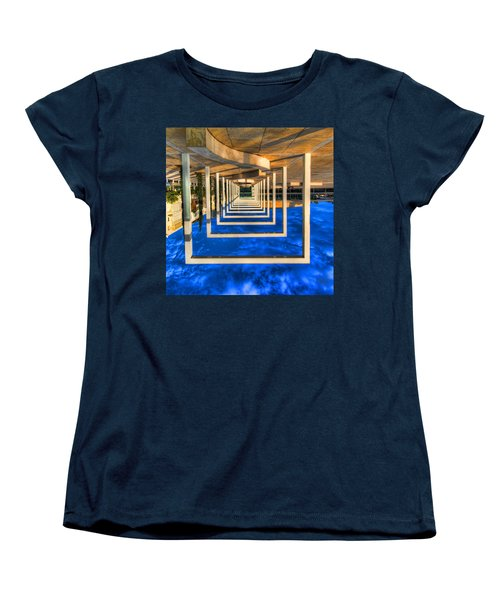Tel Aviv Jump Women's T-Shirt (Standard Cut) by Ron Shoshani