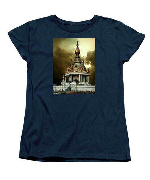 Temple Of Clouds  Women's T-Shirt (Standard Cut) by Ian Gledhill