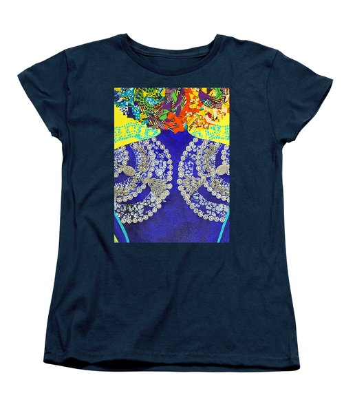Temple Of The Goddess Eye Vol 3 Women's T-Shirt (Standard Cut) by Apanaki Temitayo M