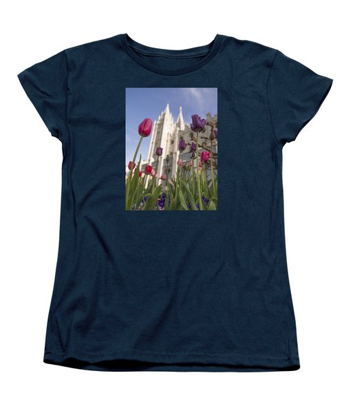 Temple Tulips Women's T-Shirt (Standard Fit)