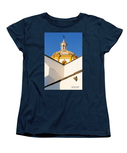 Women's T-Shirt (Standard Cut) featuring the photograph Templo De La Merced Guadalajara Mexico by David Perry Lawrence