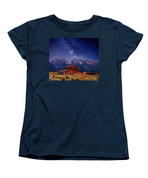 Teton Nights Women's T-Shirt (Standard Cut)