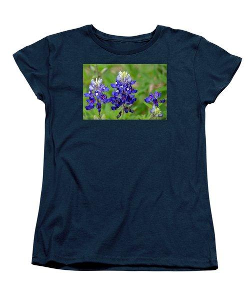 Texas Bluebonnets Women's T-Shirt (Standard Cut)
