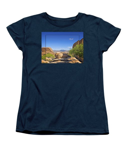 Texas Canyon 2 Women's T-Shirt (Standard Cut) by Walter Herrit