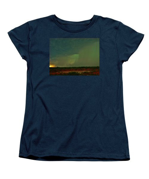 Women's T-Shirt (Standard Cut) featuring the photograph Texas Microburst by Ed Sweeney