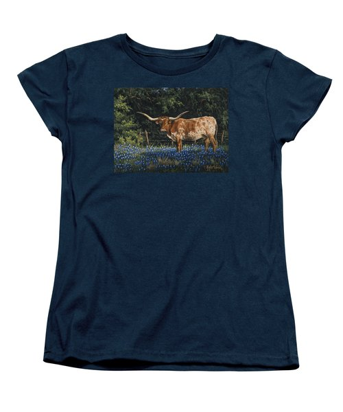 Texas Traditions Women's T-Shirt (Standard Cut) by Kyle Wood