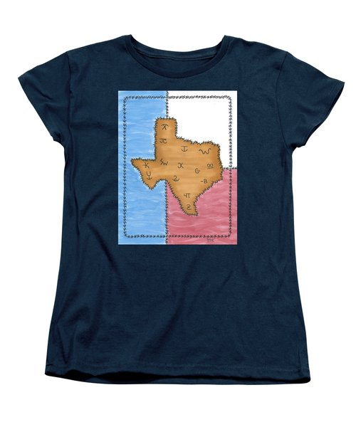 Texas Tried And True Red White And Blue Women's T-Shirt (Standard Cut) by Susie WEBER