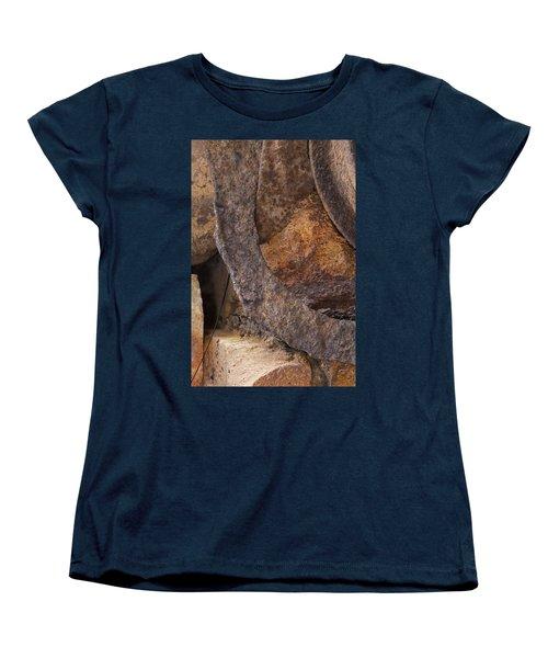 Textures 2 Women's T-Shirt (Standard Cut) by Fran Riley