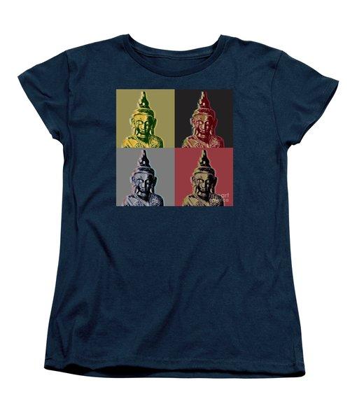 Thai Buddha Women's T-Shirt (Standard Cut) by Jean luc Comperat